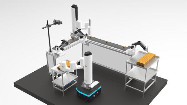 Einsatz von DOBOT Roboter für Kostengünstige Produktions- und Verpackungslinien.